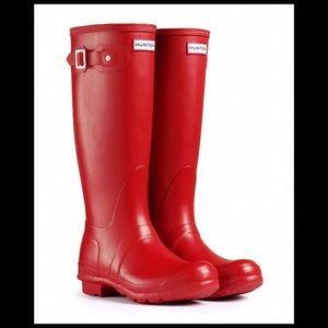 Hunter Woman's Original Tall Rain Boots BRAND NEW!